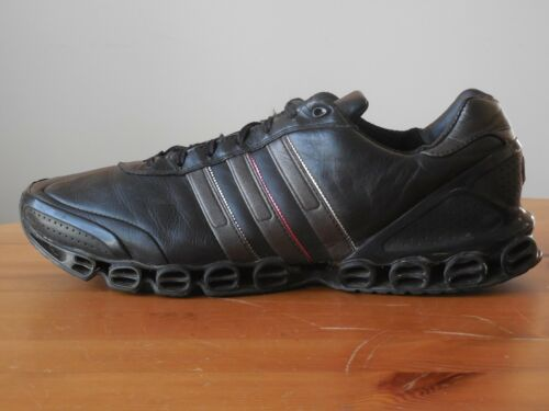 raro Running 12 Xlab Size Black Leather y Shoes Excelente Adidas CwB4qTxpp