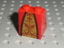 Buste reine LEGO Slope brick queen torso ref 74009 - 91754 / Set 10223 7952