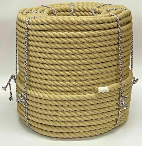 28 mm qualité Polyhemp Hempex Synthétique Chanvre terrasse corde-au mètre