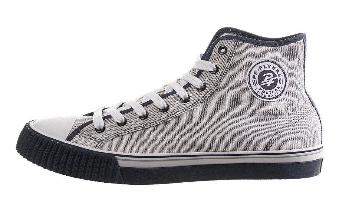PF Flyers Center Hi Reiss PM11CH1D Canvas Uomo Shoes