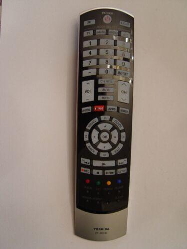 Toshiba CT-90395 Remote Control Part # 75030669 For 47L7200U  55L7200U