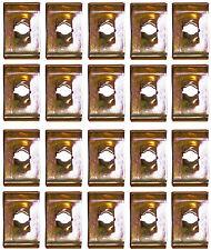 20 X SPEEDCLIPS U SPIRE NO.10 SCREW CLIP CLIPS NUTS SF7