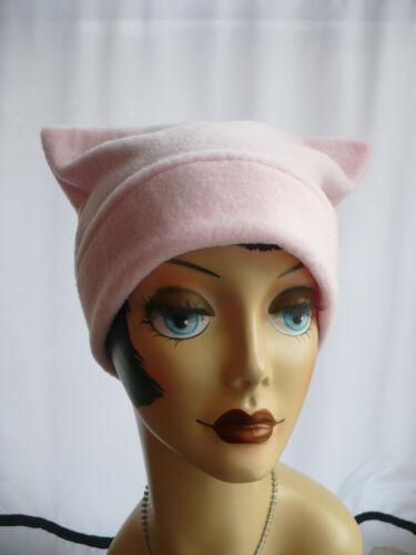 Powder Pink Polar Fleece Pussy Hat~ SHIPS FREE