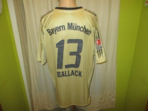 FC Bayern Munich Adidas dehors maillot 2004/05 + Nº 13 Ballack taille XL neuf