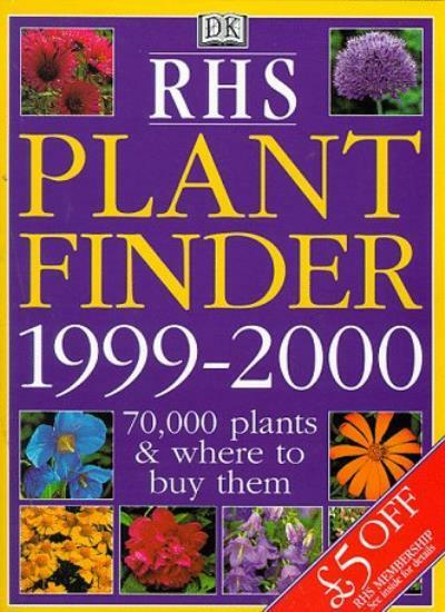 RHS PLant Finder 1999-2000 By TONY LORD