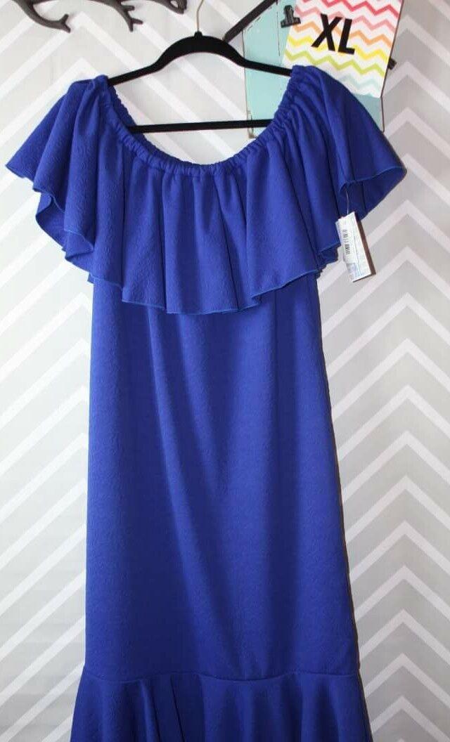 LuLaRoe Cici Flounce Dress NWT Extra Large XL