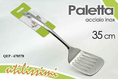 Mestolo Paletta Cucina 35 Cm In Acciaio Inox Utilissimi Qep-678578 Other Flatware & Cutlery