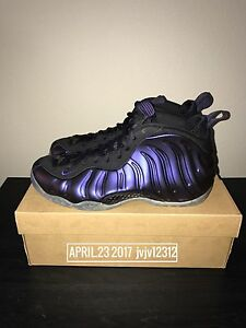 check out b2a42 fc3aa Image is loading Rare-2009-Nike-Air-Foamposite-One-Eggplant-Not-