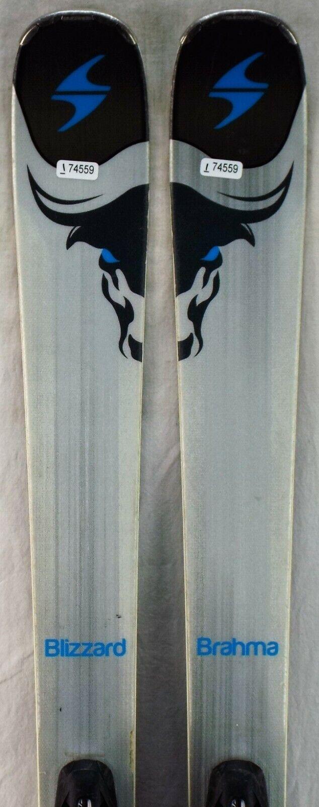 16 -17 Blizzard Brahma CA SP Begagnade män's Demo åka skidors w  Bindings Storlek 166cm