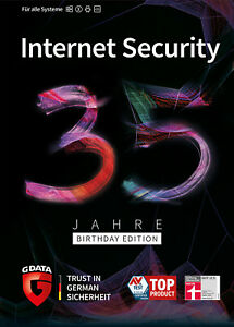 G-DATA-Internet-Security-2020-5-PC-1-Jahr-35-Jahre-Birthday-Edi-ESD-Key