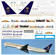1/144 laser decal Boeing 777-300 Air Saudia
