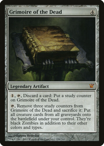Grimoire of the Dead Innistrad NM Mythic Rare MAGIC GATHERING CARD ABUGames