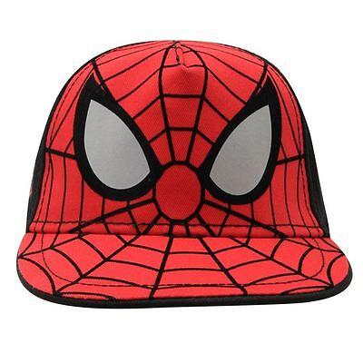 Affidabile Marvel: Spiderman Berretto Da Baseball, Una Taglia 4-8yr Circa, Nuovo Con Etichette-an Baseball Cap,one Size 4-8yr Approx,new With Tags It-it Belle Arti