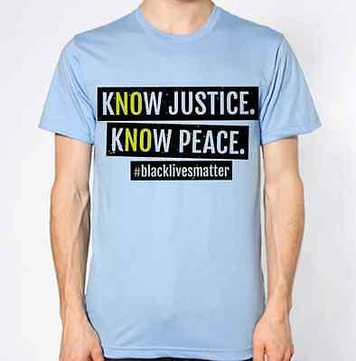 Ambizioso Nero Vite Contano T-shirt Giustizia Pace Razzismo Smettere Di Criminalità-mostra Il Titolo Originale Tecnologie Sofisticate