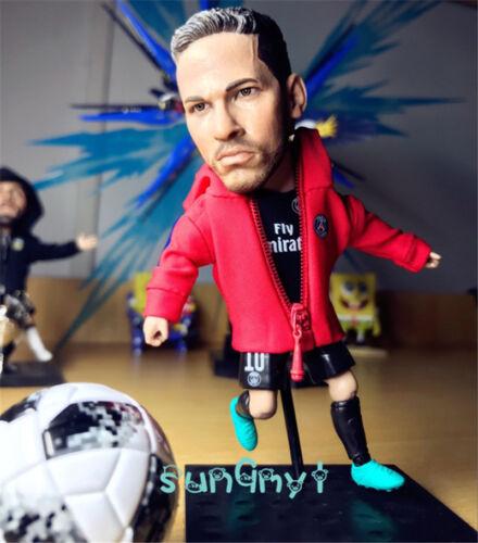 "Neymar da Silva figura de acción estatua de fútbol Paris Saint-Germain recuerdo 4.8/"""