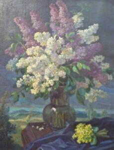 Gemaelde-Blumenstilleben