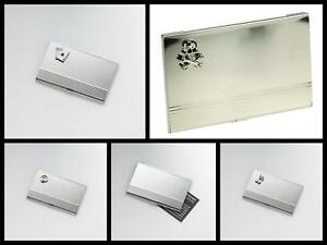 Onyx Art Novelty Stainless Steel Business Card Holder Company