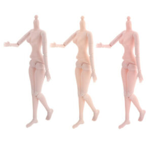 60cm 21 Jointed Female Doll Nude Body for Night Lolita Doll DIY Normal Skin
