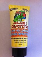 Aloe Gator Spf 40 Lotion Broad Spectrum Uva-uvb Protection Water Resistant