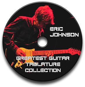 ERIC-JOHNSON-BLUES-ROCK-GUITAR-TAB-TABLATURE-SONG-BOOK-ANTHOLOGY-SOFTWARE-CD