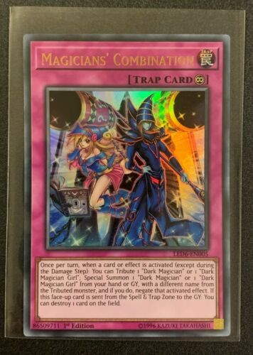 LED6-EN005 Magicians/' Combination TCG Yugioh Ultra Rare