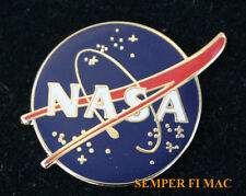 NASA MEATBALL VECTOR LOGO SEAL HAT LAPEL PIN ASTRONAUT APOLLO US SPACE SHUTTLE