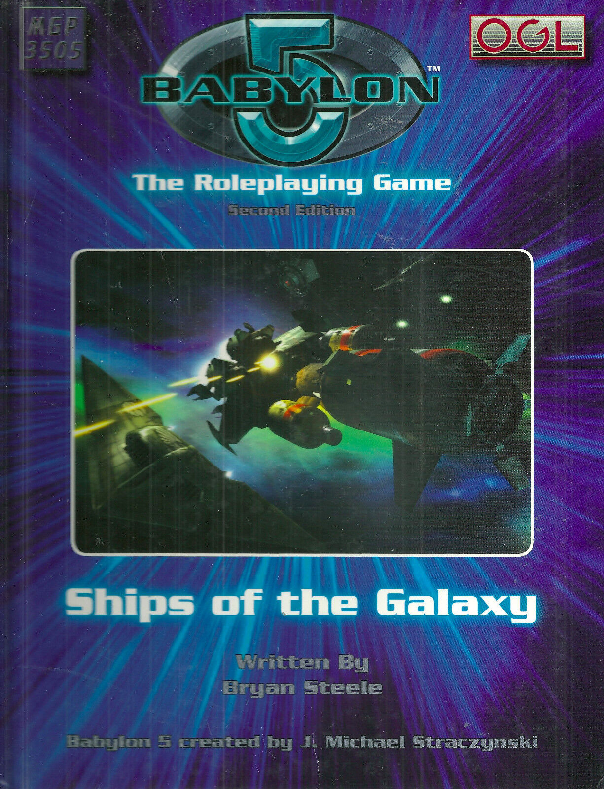 STEELE  BABYLON 5 SECOND EDITION  SHIPS OF THE GALAXY  2006 1ST ED HC VG+ RARE
