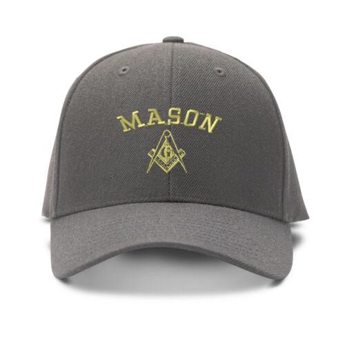 Mason Embroidery Embroidered Adjustable Hat Baseball Cap