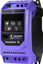 Invertek Motor Inverter 0.37kW, 1 phase in, 3 phase out, ODE-3-120023-1F12
