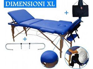 Lettino Da Massaggio Pieghevole.Dettagli Su Lettino Per Massaggi 3 Zone Blu Portarotolo Lettini Da Massaggio Pieghevole