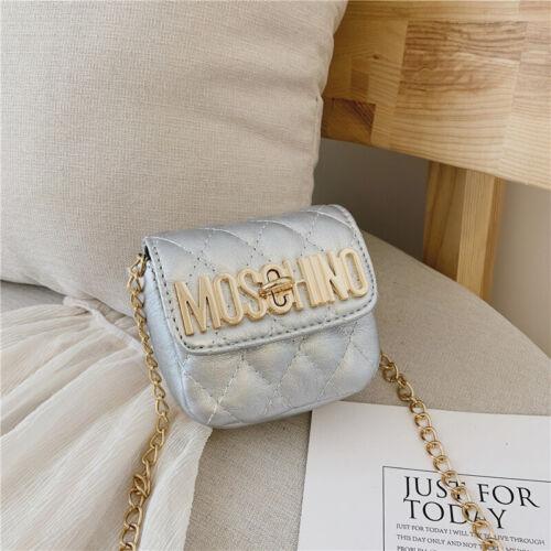 Kids Fashion Classic Design Diamond Kids Chain Cross-body Bags Christmas Gift