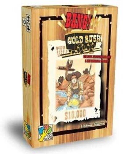 Gioco di Carte Espansione Nuovo ITALIANO Sigillato da Tavolo BANG GOLD RUSH