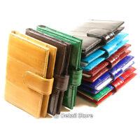 Eel Skin Credit/business Card Holder/case/wallet Transparent Plastic Insert