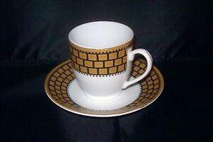 Bijoux-Terner-Espresso-Demitasse-Cup-Saucer-Set-Gold-Black-Brick-Design