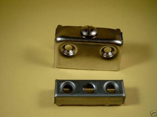 Stahl Vernickelt 8  Schrankverbinder//TX-Verbinder