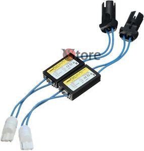 Led-Lampada-T10-2-Resistenza-Spegni-Spia-Posizione-Targa-Canbus-W5-No-Errore-12V
