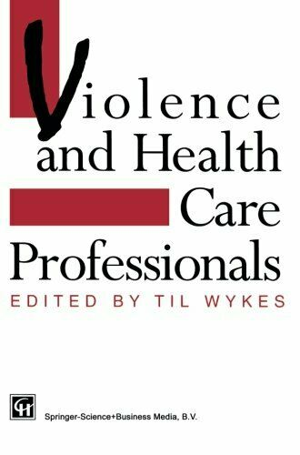 Violence and Health Care Professionals, Wykes, T. 9781565931329 Free Shipping,,