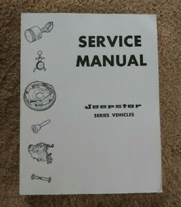 1966-1971-Kaiser-Jeep-C101-034-Jeepster-034-Camion-Wagoneer-V6-225-F4-134-Reparar