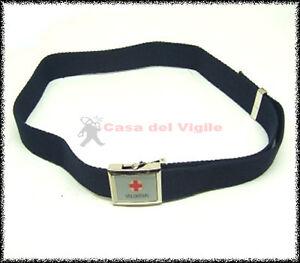 Cintura-tela-blu-Vega-Holster-2V77-croce-rossa-italiana-CRI