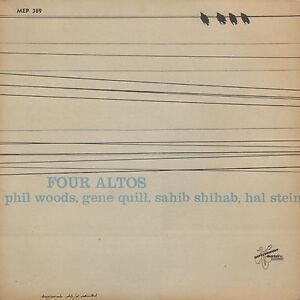 PHIL-WOODS-GENE-QUIL-SAHIB-SHIBAB-HAL-STEIN-Four-Altos-RARE-1958-JAZZ-EP-7-034