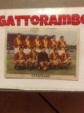 Figurina Cartonata N. Squadra Catanzaro Rarissima-Ed.Edj Calciocampioni