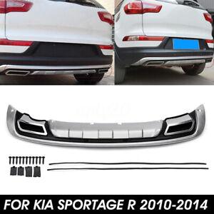 Protezione-Paraurti-Posteriore-Modello-Tuning-Per-Kia-Sportage-R-2010-2014