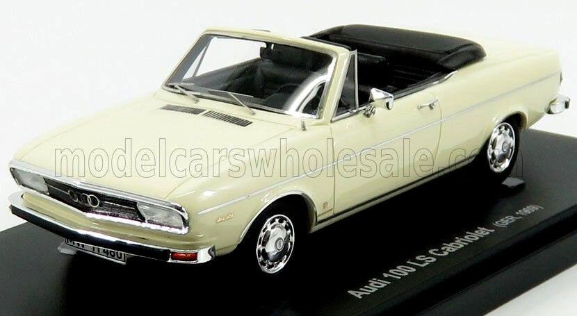 Merveilleux en résine-MODELCARI 100 LS Cabriolet 1969-Ivoire - 1 43 - lim.333