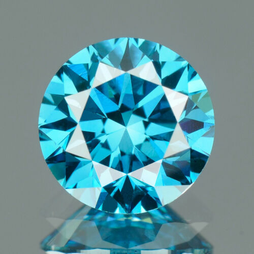 1.3 MM CERTIFIED Round Fancy Blue Color SI Loose Natural Diamond Wholesale Lot