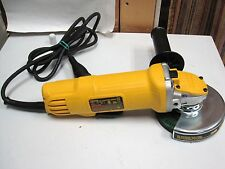 """DeWalt DWE4120 4-1/2"""" Paddle Switch Small Angle Grinder excellent condition LQQK"""