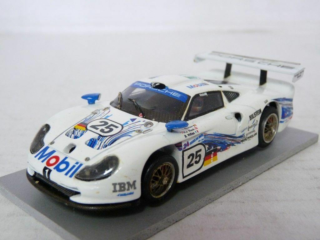Renaissance 1 43 PORSCHE 911 GT1 1997 Le Mans Handmade Model Kit Voiture