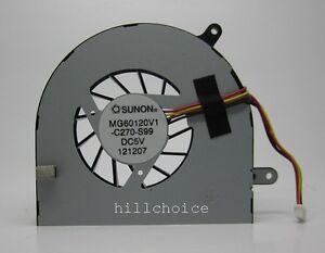 Original-SUNON-CPU-Cooling-Fan-For-Laptop-4-PIN-MG60120V1-C270-S99-DC28000CZS0