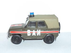 Sammlung Russisches Modellauto von DeAgostini Militärfahrzeug 1:43 # 03