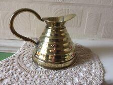 Vintage Weba Ware Brass Jug Birmingham England 1930s