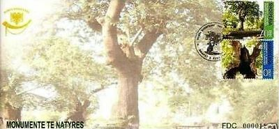 "Fdc Set Mnh Making Things Convenient For Customers Natural Monuments ""plane Trees Of Elbasan"" Smart Albania 2006"